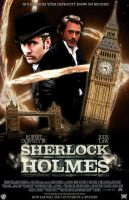 Sherlock Holmes -2009- Poster. by marty-mclfy