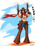 Valla-Cowgirl-Color by SamwiseDidier