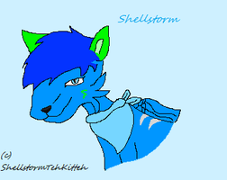 Shellstorm head shot by Amberstar911