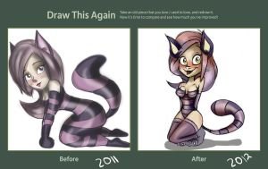 Draw this again contest. by millegas