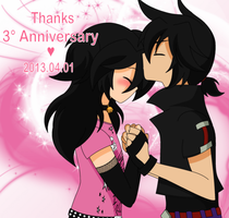 Anniversary (3rd) by candy-channeru