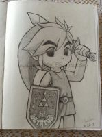 . : Toon Link : . by GenyStar