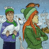 07 - Swans-a-Swimming by Griffin-Fire