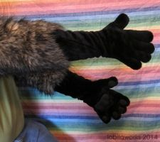 Realistic Brown Paws for Sale by LobitaWorks