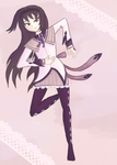 i want akemi homura to RUN by Lilya28