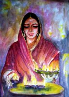 Color of light ... A script for Diwali ... by Shashikanta