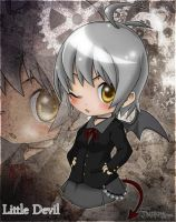 Chibi Little Devil by Darkness1999th