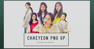Chaeyeon THE STAR 6P PNG by vul3m3