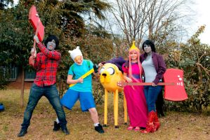 Adventure Time Group by PedoAl