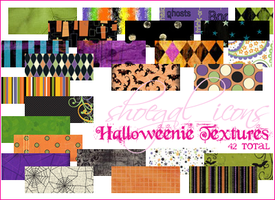 100x100 Halloweenie Textures by kissncontrol