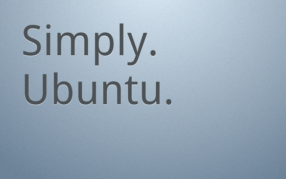 Simply. Ubuntu. Light 1440x900 by MrElemental