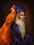 Albus Dumbledore by daPatches
