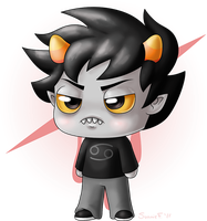Homestuck - Chibi Karkat by SunnieF