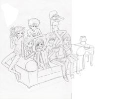 sketch for cover by obsessioninhumanform