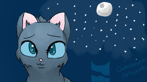 Warrior cats- Bluestar by GraceanaArtworks