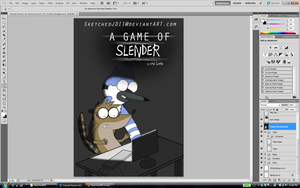 Drawing: A Game of Slender (Completed Version) by SketchedJDII