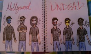 Hollywood Undead by Funnyness2012