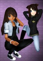 For NoUsernameIncluded and SannePyon by Asiatheblacknese
