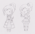 Two Dresses by Minessa