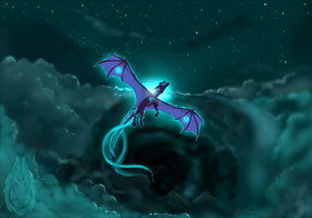 The Turquoise Powers of Night by Riot03