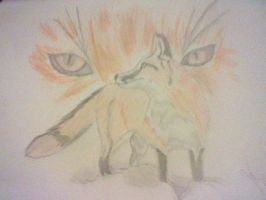 Fox With Eyes by InMyWolfState