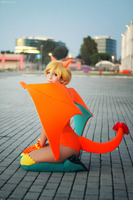 'Charizard Ginjika' Cosplay by CrazyMonkey87
