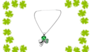 Lucky Charm Necklace by blazincheshirecat