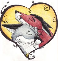 Fox Heart by dragonshrine