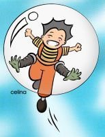 BUBBLE BOY by ChibiCelina