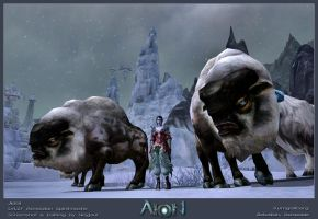 Gentle Giants - AION by Neyjour