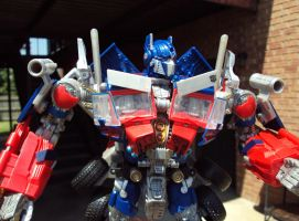 ROTF Optimus Custom - Close Up by Unicron9