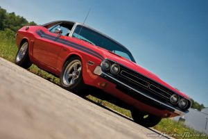 The Challenger....1971 by AmericanMuscle