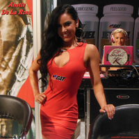 Anette De La Rosa And DJ Stephi K At 2014 Olympia by zenx007