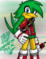 Bean The Dynamite Duck by LillithMalice