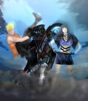 Naruto and Hinata: I did it! by Lesya7