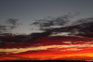 Fall Sunset Series #104 by LifeThroughALens84