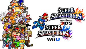 Super Smash Bros. for Wii U and 3DS by SuperMario1985