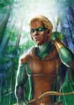 Connor Hawke - forest by Autumn-Sacura