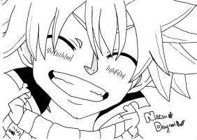 Natsu Dragneel - Smile for the camera! by UsagiTail