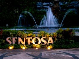 Sentosa Fountain by jasaholic