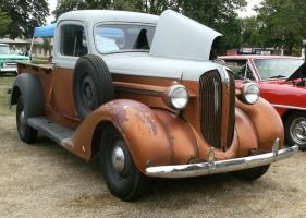 1937 Plymouth pick-up by finhead4ever