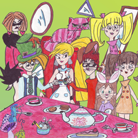 Mad Tea Party by ayame133