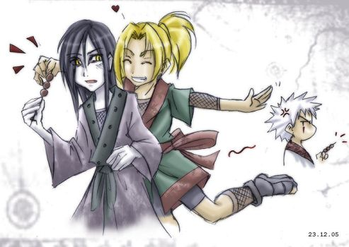Naruto - The little things... by sora-ko