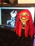 Grell voodoo doll by MarieWithers