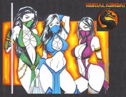 MK ladies by mikehegaman