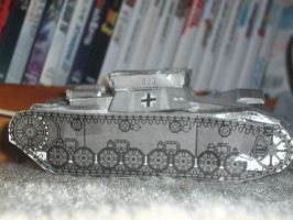 papercraft Munitions Panzer 4 #2 by Warrior1990