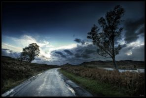 Road of Highlands by zardo