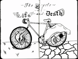 The Bicycle of life and death by Geck0o0