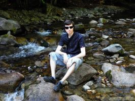 Me at river by valsomir