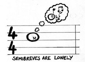 Semibreves are Lonely by FluteJazz